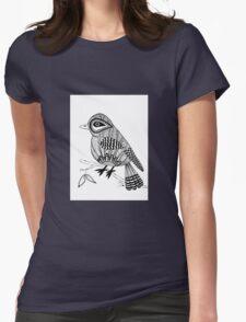 'Beaker' the bird Womens Fitted T-Shirt