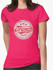 Donald Trump 2016 vintage Womens Fitted T-Shirt