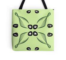 contemporary floral design Tote Bag