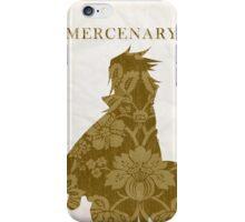 """Alvin vint Svent (""""Mercenary"""" silhouette)  iPhone Case/Skin"""