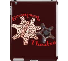 BrainPunk Theatre - Thought-Driven Entertainments Since 2016 iPad Case/Skin