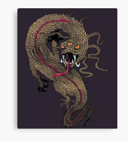 Serpent Dragon  Canvas Print