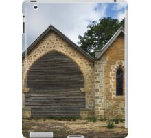 Greendale Church, Unfinished Life iPad Case/Skin