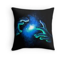 Space Illusionist Throw Pillow