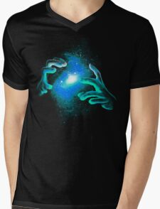 Space Illusionist Mens V-Neck T-Shirt