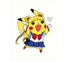 Sailor Pikachu Art Print