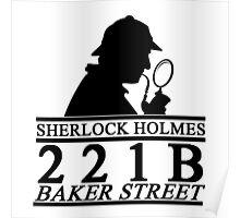 Sherlock Holmes Address 1 Poster