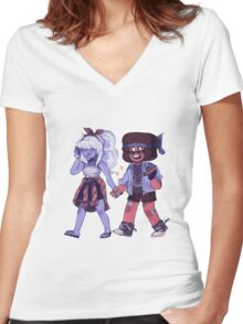 kool Women's Fitted V-Neck T-Shirt