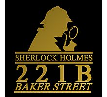 Sherlock Holmes Address 2 Photographic Print