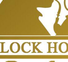 Sherlock Holmes Address 2 Sticker