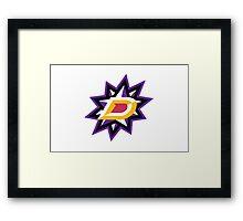 NHL Pokemon Dallas Framed Print