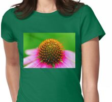 Neon Coneflower Womens Fitted T-Shirt
