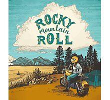 ROCK MTN ROLL Photographic Print