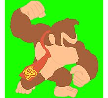 Simplistic Donkey Kong Photographic Print