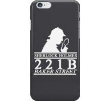 Sherlock Holmes Address 3 iPhone Case/Skin