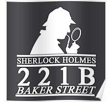 Sherlock Holmes Address 3 Poster