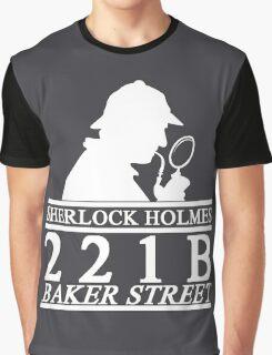 Sherlock Holmes Address 3 Graphic T-Shirt