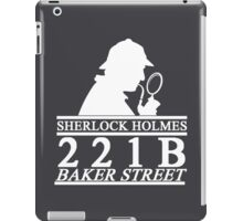 Sherlock Holmes Address 3 iPad Case/Skin