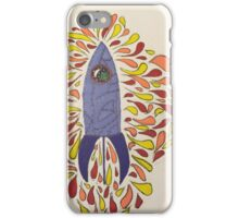 Flaming Space  iPhone Case/Skin