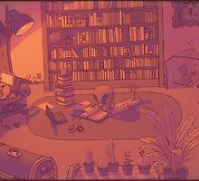 Personal Library by Kabi Jedhagen