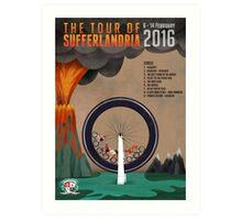 Tour of Sufferlandria 2016 - Official Artwork Art Print