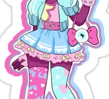 Cotton Candy Garnet Sticker