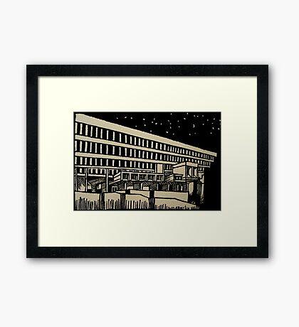 Boston City Hall Framed Print