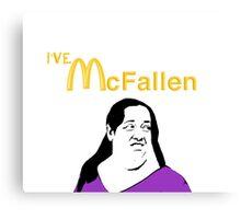 """""""McFallen"""" Vine Parody Canvas Print"""