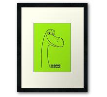 The Good Dinousaur movie  Framed Print
