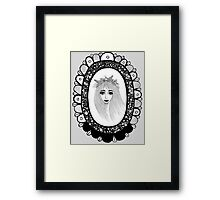 Womanly Charm Framed Print