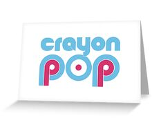 Crayon Pop Greeting Card