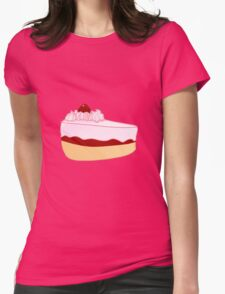Cake Womens Fitted T-Shirt