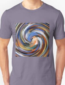 Modern Swirl Abstract Art T-Shirt