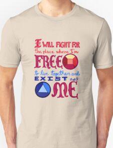 Garnet's Pledge Unisex T-Shirt
