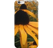 Yellow Floral Pattern Print iPhone Case/Skin