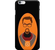 Half Life Gordon Freeman Vector iPhone Case/Skin