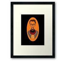 Half Life Gordon Freeman Vector Framed Print