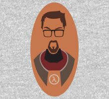 Half Life Gordon Freeman Vector One Piece - Short Sleeve