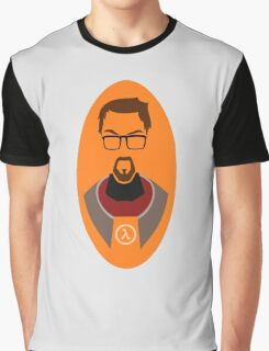 Half Life Gordon Freeman Vector Graphic T-Shirt