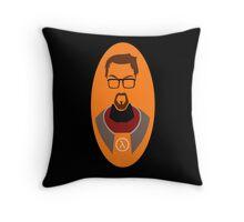 Half Life Gordon Freeman Vector Throw Pillow