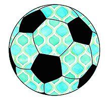 Soccer ball #3 Photographic Print