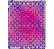 Honeycomb Inspirations - Magenta Purple and Blue iPad Case/Skin