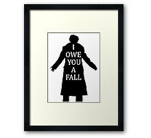 I Owe You A Fall Framed Print