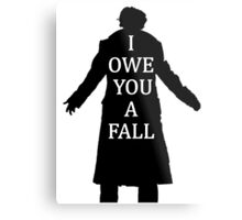I Owe You A Fall Metal Print