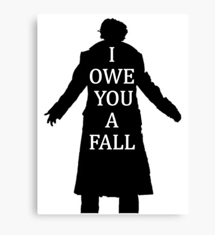 I Owe You A Fall Canvas Print