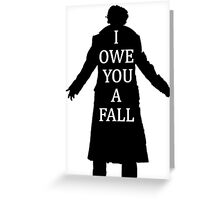 I Owe You A Fall Greeting Card