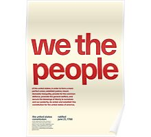 United States Constitution Poster Poster