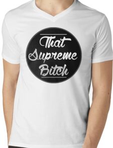 dat supreme b Mens V-Neck T-Shirt