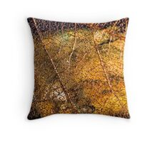 Roots and Veins Throw Pillow