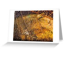 Roots and Veins Greeting Card
